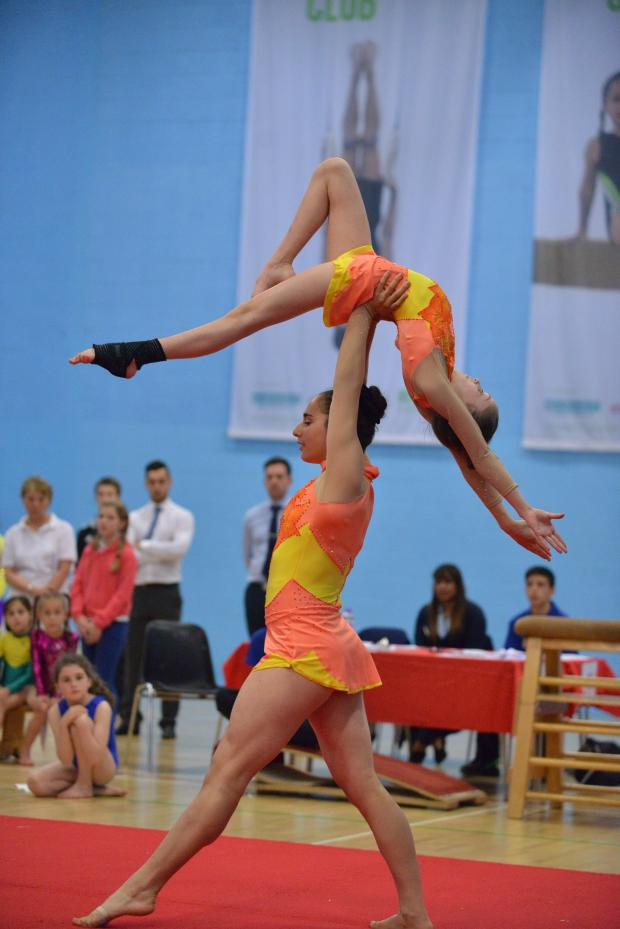 Gymnasts showcase talent at festival