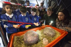 Jurassic Parkfield: dinosaur eggs discovered in school playground